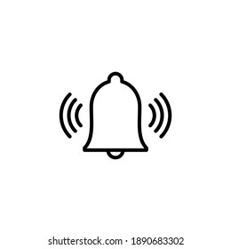 Bell Icon vector. Notification icon for your web site design