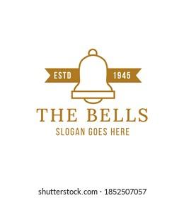 Bell logo vector. Bell, Notification Logo Design Template.
