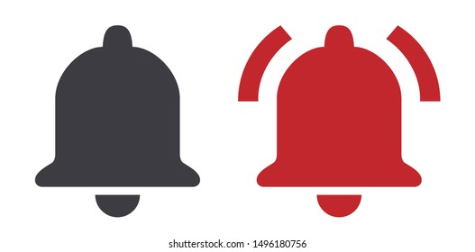 Bell ring icon vector illustration