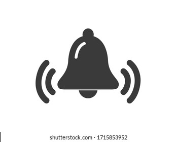 Bell  simple vector design.  Bell  icon.