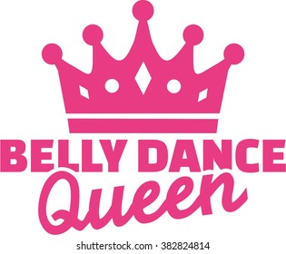 Belly dance queen with crown