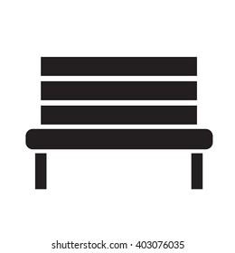 Bench Icon illustration design