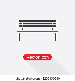 Bench Icon Vector Illustration Eps10