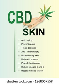 benefits effective or properties the skin and body human endocannabinoid system for marijuana (CBD)