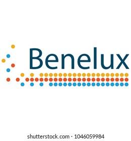 Benelux Union emblem vector