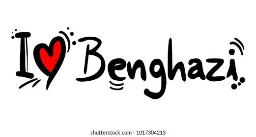 Benghazi love message