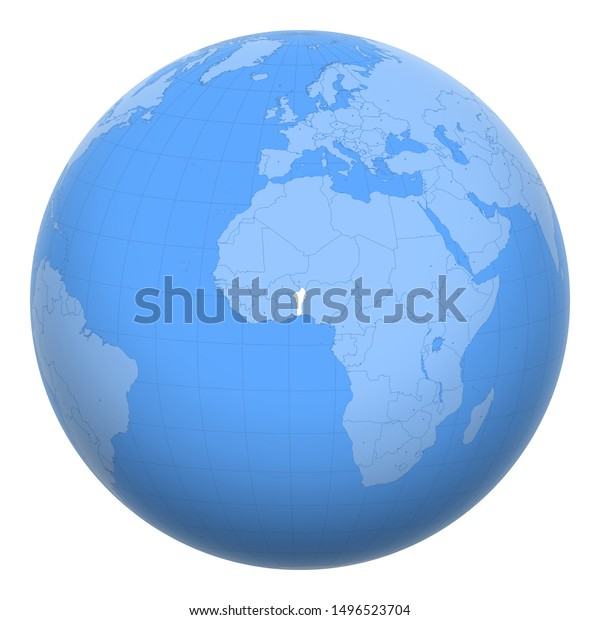 Benin Dahomey On Globe Earth Centered Stock Vector (Royalty ... on kingdom of scotland map, lesotho map, kingdom of zimbabwe map, confederate states of america map, iran map, pingelap map, fezzan map, new france map, bangladesh map, haute-volta map, africa map, british america map, benin map, world map, guadeloupe map, the ivory coast map, kingdom of kongo map, french colonial empire map, rio de oro map,