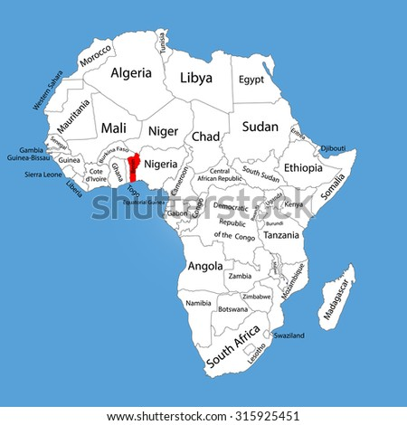Benin Map In Africa.Where Is Benin In Africa On The Map Jackenjuul