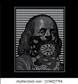 Benjamin Franklin art west coast