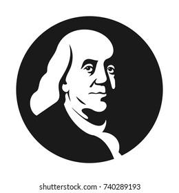 benjamin franklin vector logo.