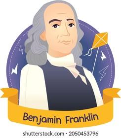 Benjamin Franklin,Lightning rod in 1749.