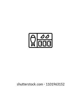 Bento Box vector illustration