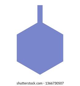 Benzene, Organic Chemistry, Laboratories, Flat Style Icon Vector - Vector