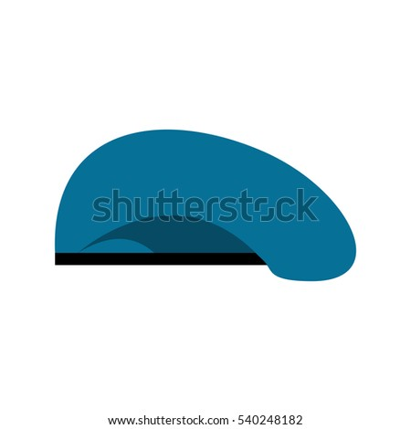 8e7179df659 Beret Military Blue Soldiers Cap Army Stock Vector (Royalty Free ...