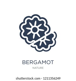 Bergamot icon. Trendy flat vector Bergamot icon on white background from nature collection, vector illustration can be use for web and mobile, eps10