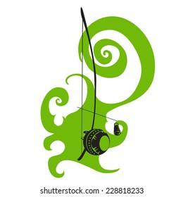 Berimbau. Hand drawn graphic illustration for capoeira theme.