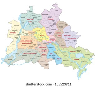 berlin administrative map