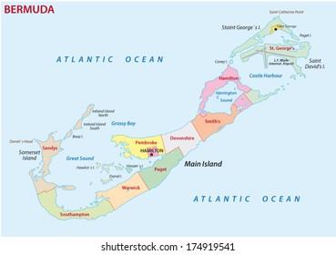 Map Of Bermuda Images, Stock Photos & Vectors | Shutterstock