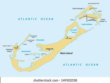 Bermuda Map Images, Stock Photos & Vectors | Shutterstock