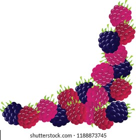 Berries triangle pattern