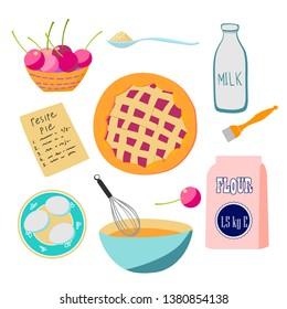 Egg Pies Stock Vectors Images Vector Art Shutterstock
