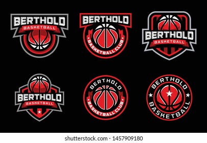 Berthold Basketball Club Sport Logo Design