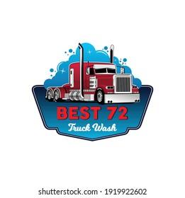 Best 72 truck wash illustration vector