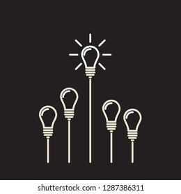 best and brightest  idea as a light bulb contest winner