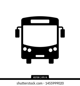 The best of Bus icon vector, illustration logo template in trendy style. Suitable for many purposes.