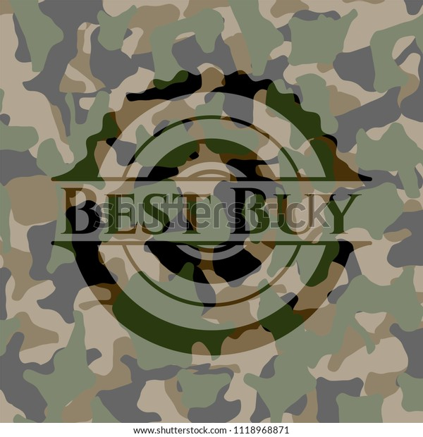 Best Buy Military Discount >> Best Buy On Camo Pattern Stock Vector Royalty Free 1118968871