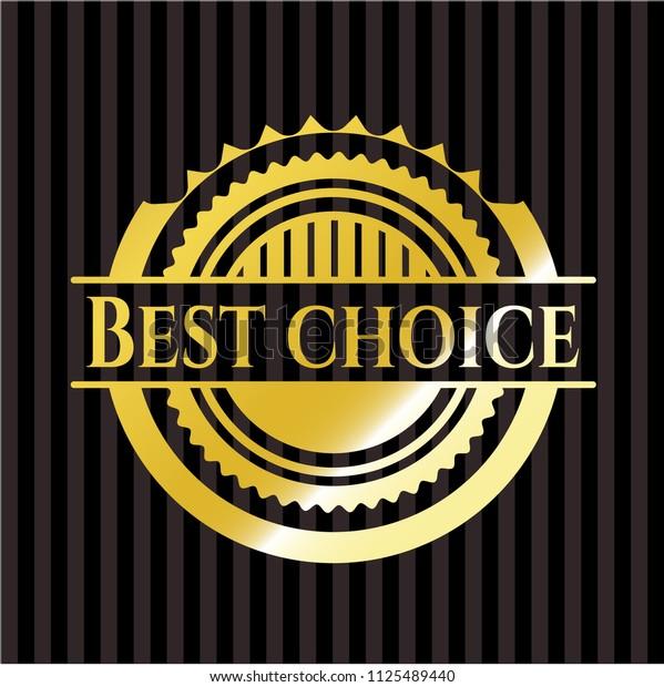 Best Choice gold badge