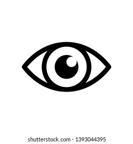 Best Eye Icon Vector Design Template