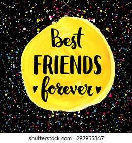Royalty Free Best Friends Forever Images Stock Photos Vectors