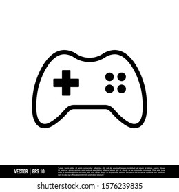 The best Gamepad icon vector, illustration logo template in trendy style. Suitable for many purposes.