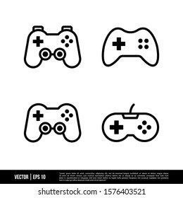 The best Gamepad icons vector collection, illustration logo template in trendy style. Suitable for many purposes.