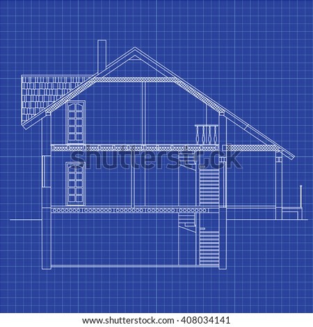 best interesting architectural background on graph stock vector