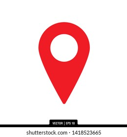 The best location icon vector, illustration logo template in trendy style. Can be used for many purposes.