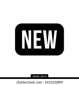 The best new label icon vector, illustration logo template in trendy style. Can be used for many purposes.