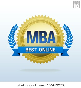 Best Online Master of Business Administration Gold Seal
