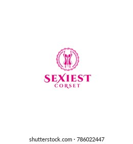 best original logo designs inspiration and concept for women sexiest corset  by sbnotion
