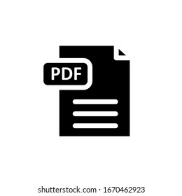 The best pdf document icon vector. eps10