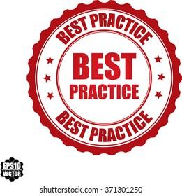 Best practice stamp.Vector.