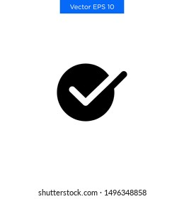 The Best Premium Checkbox Checkmark Checklist Icon Vector Simple