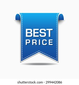 Best Price Blue Vector Icon Design