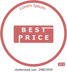 Best price Sign Vector Lettering