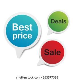 Best price,sale,deals.Stickers set