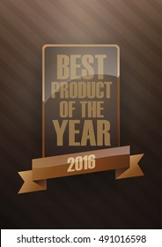Best product of the year 2016 vector EPS10