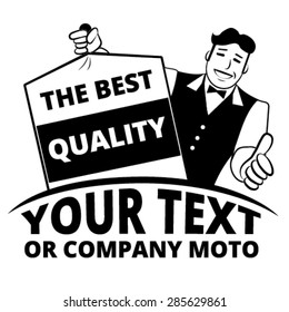 The Best Quality Dry Cleaning Graphic