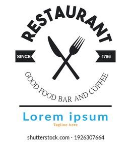 Best Restaurant Logo Design Vector Abstract Logo Design Restaurant For Branding a Restaurant