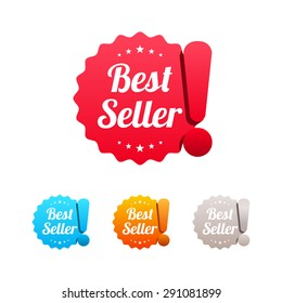 Best Seller Labels
